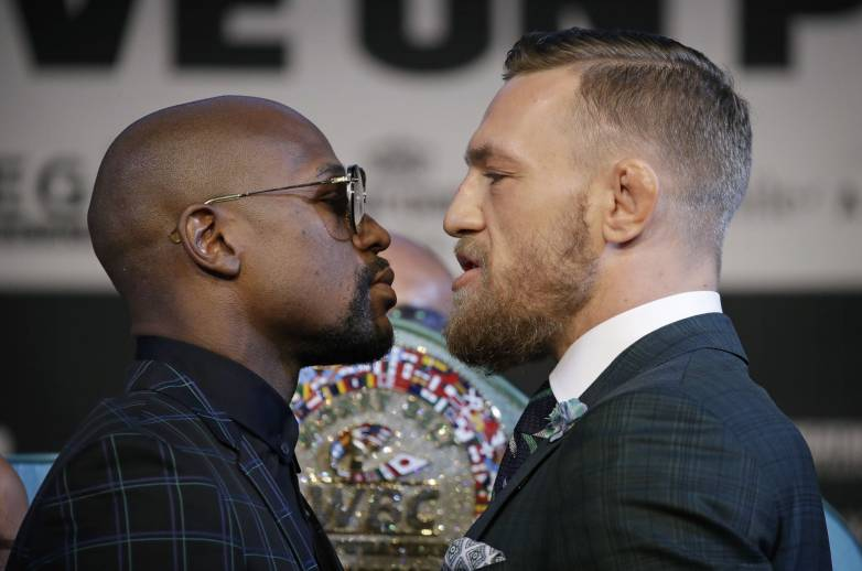 mcgregor mayweather stream