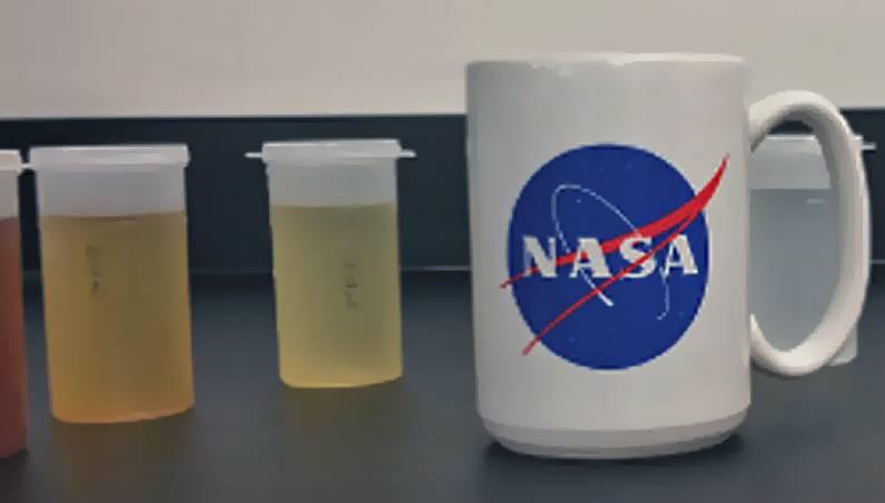 astronaut pee