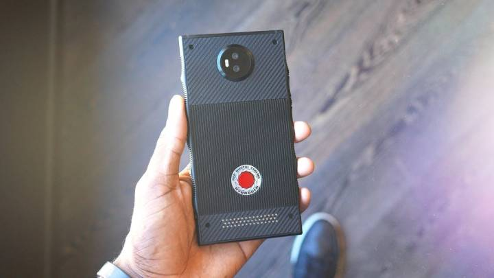 Red Hydrogen One hands-on video