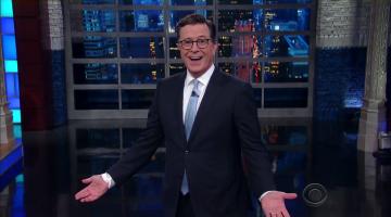 Stephen Colbert talks North Korea