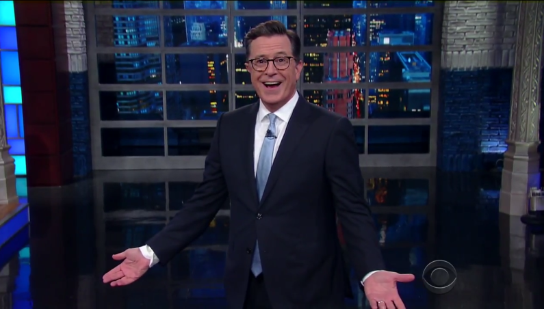 Stephen Colbert talks North Korea