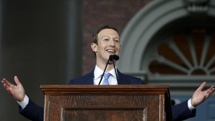 Mark Zuckerberg, very normal person