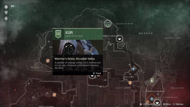 Destiny 2: Xur location and items