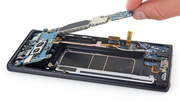 Galaxy Note 8 teardown