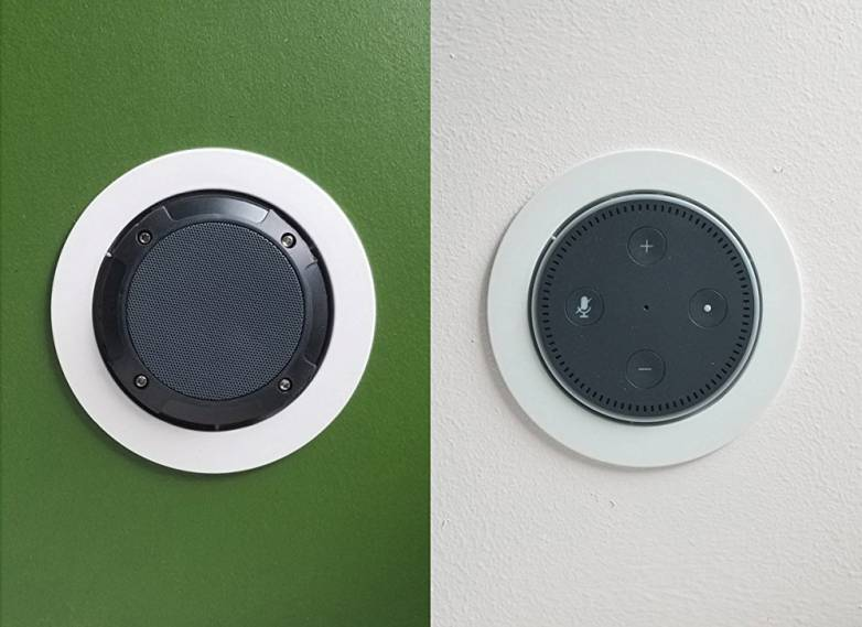Echo Dot Wall Mount On Amazon