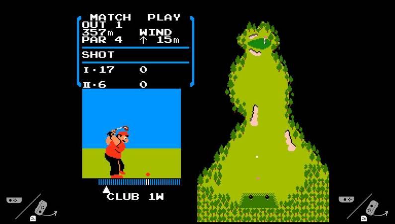 Nintendo Switch: NES emulator
