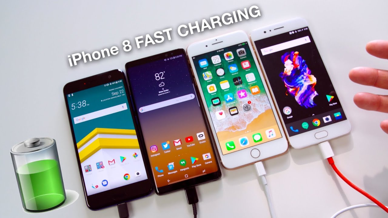 iPhone 8: Fast charging test video