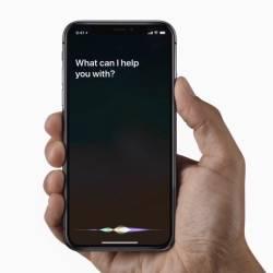 Siri interrupts speech