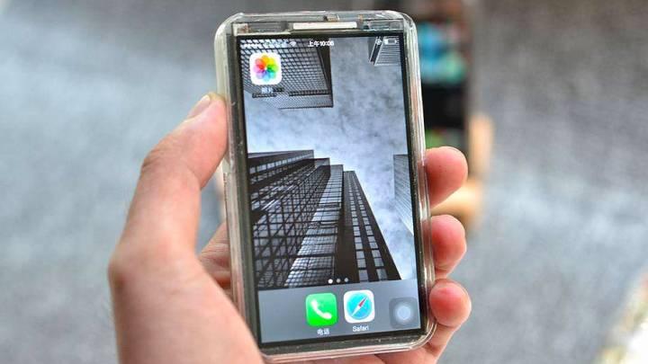 iPhone X mini prototype