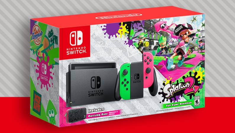 Nintendo Switch: Splatoon 2 bundle