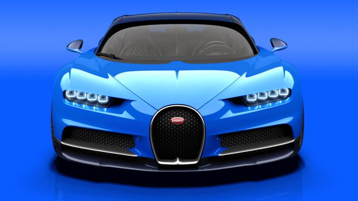 bugatti chiron speed