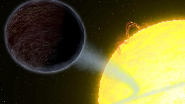 black exoplanet