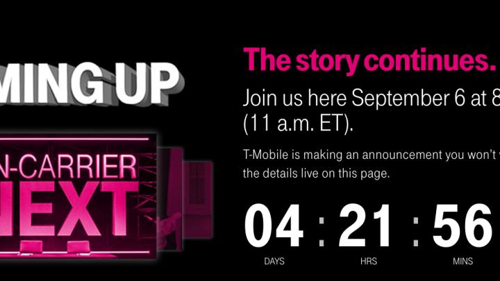 T-Mobile Uncarrier September 2017