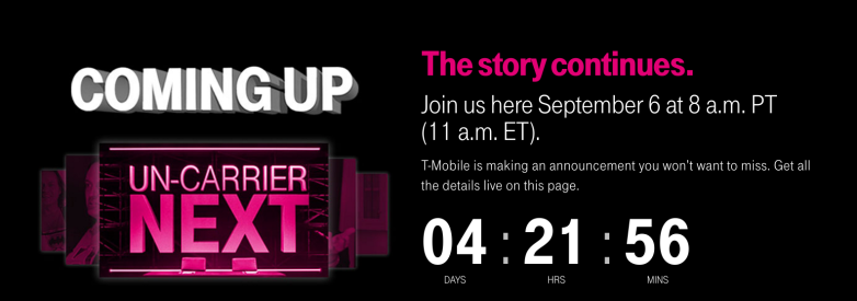 T-Mobile Uncarrier September 2017
