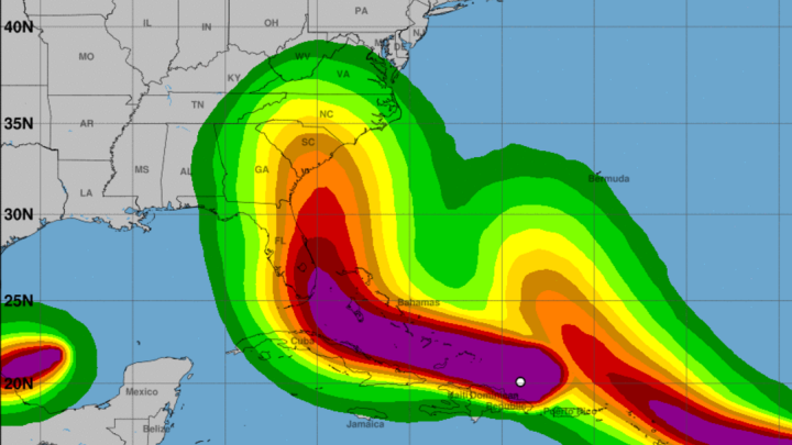 Hurricane Irma tracking live