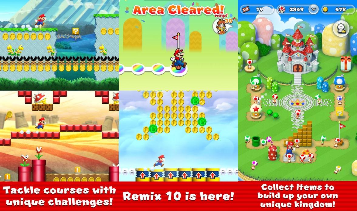 Super Mario Run Remix 10 update