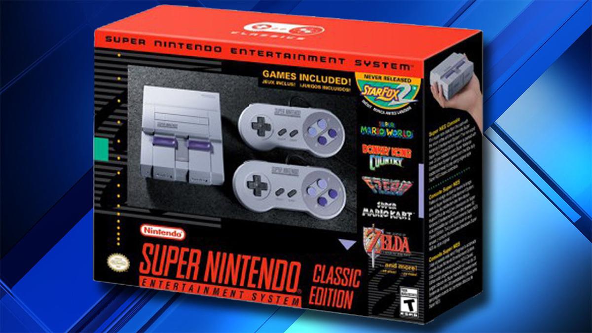 Super Nintendo Classic In Stock