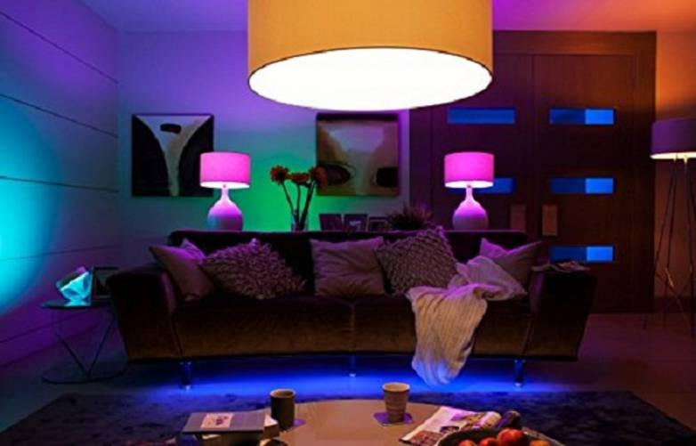 Multi-Color LED Light Bulb
