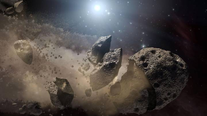 solar system asteroids