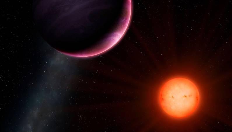gas giant dwarf star
