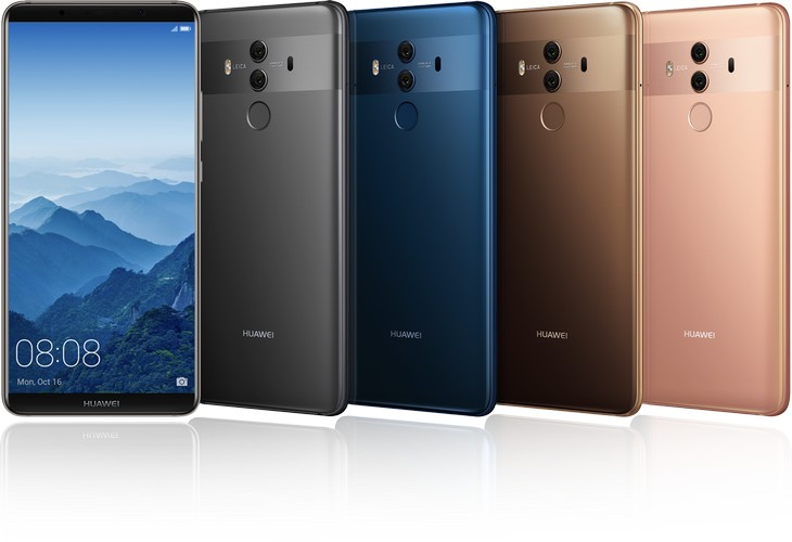 Huawei Mate 10 US launch