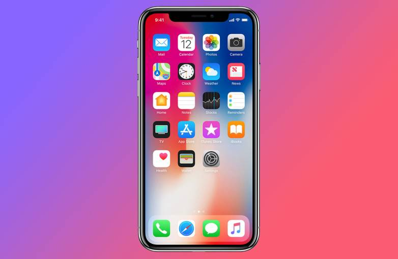 iPhone X Foldable Display