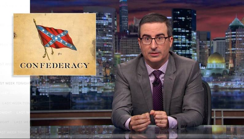 Last Week Tonight: Confederate monuments