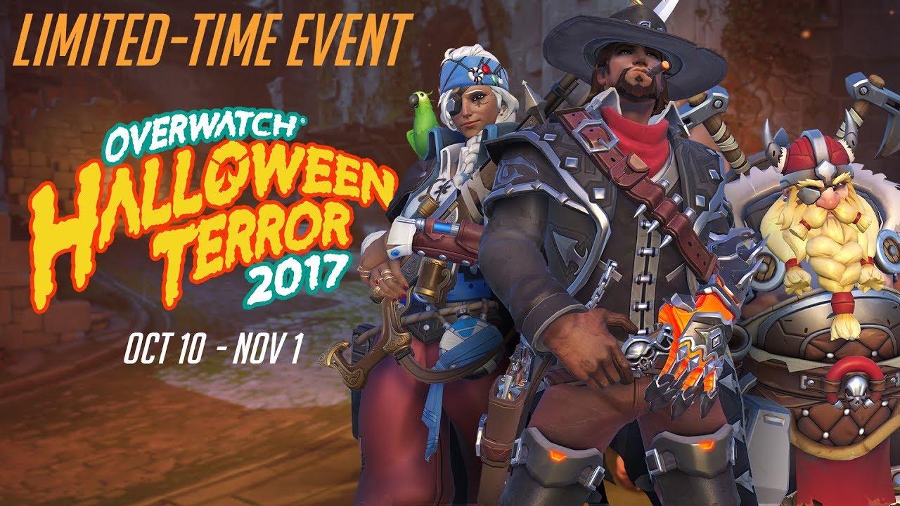 Overwatch Halloween event new skins