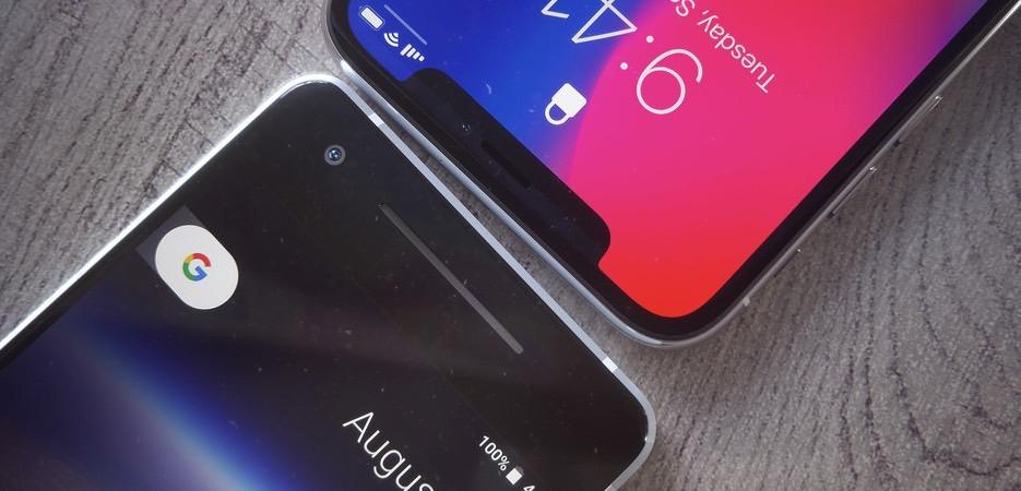 Pixel 2 vs. iPhone X