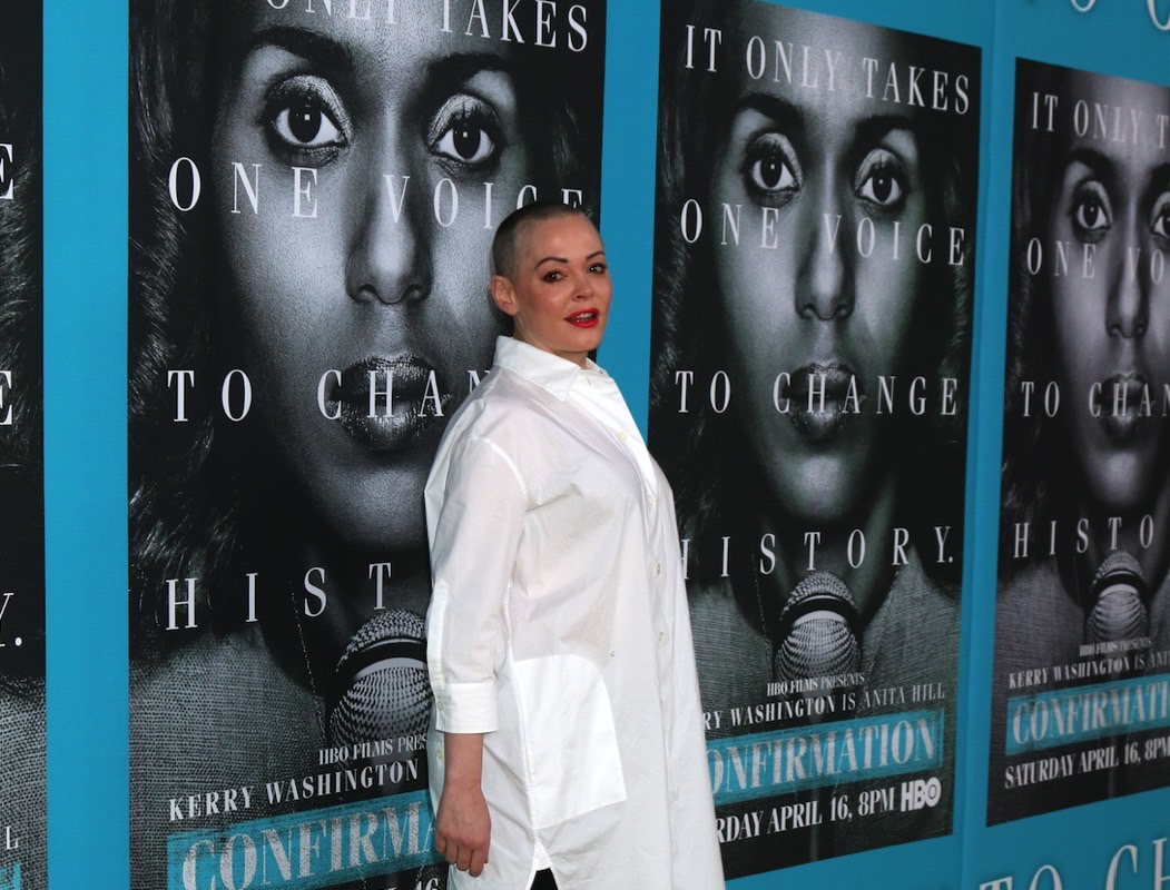 Rose McGowan vs. Harvey Weinstein