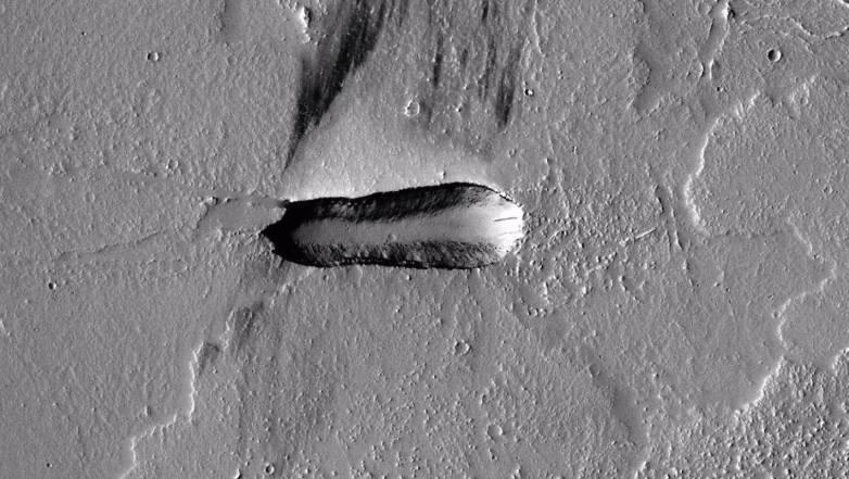 mars alien ship
