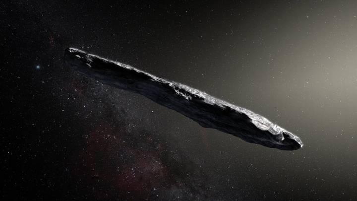 oumuamua aliens
