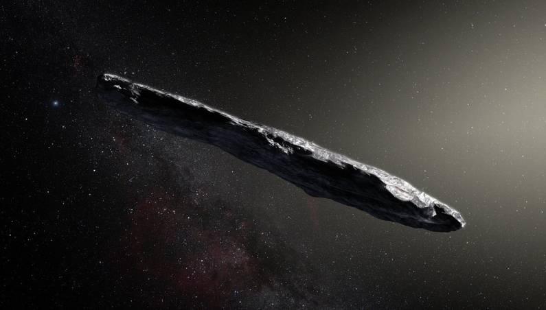alien probe asteroid