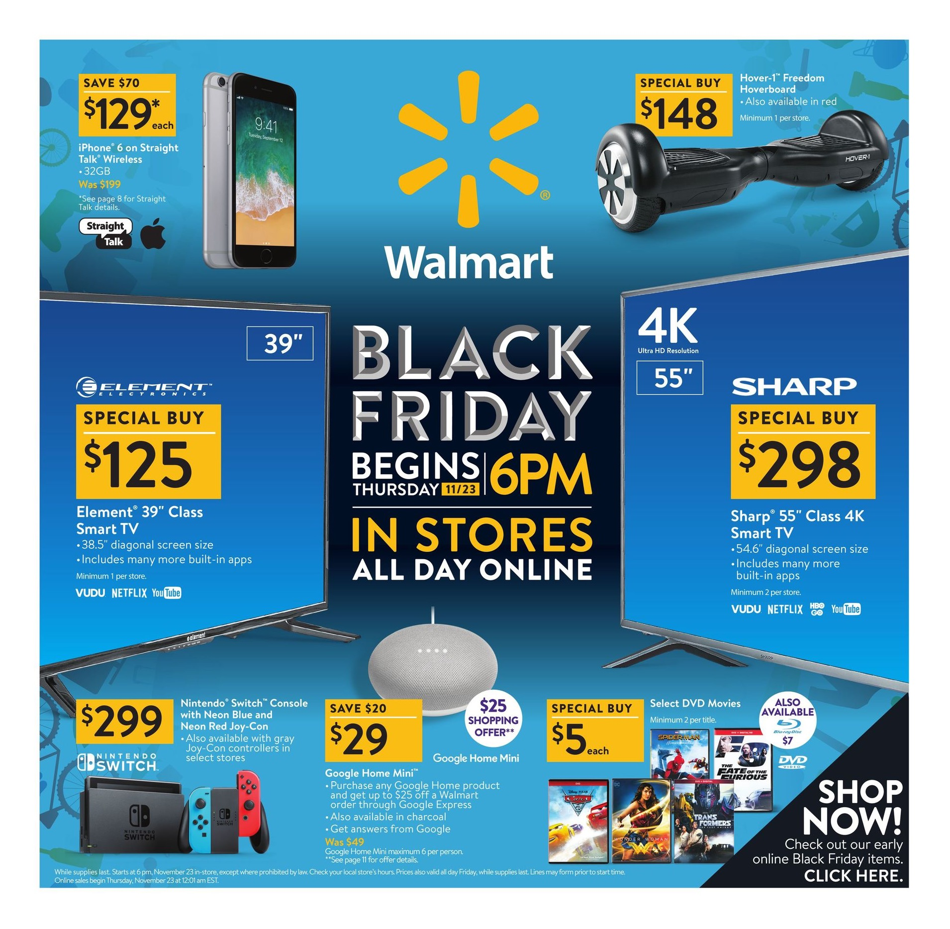 Here S The Full 36 Page Black Friday 2017 Ad From Walmart Bgr