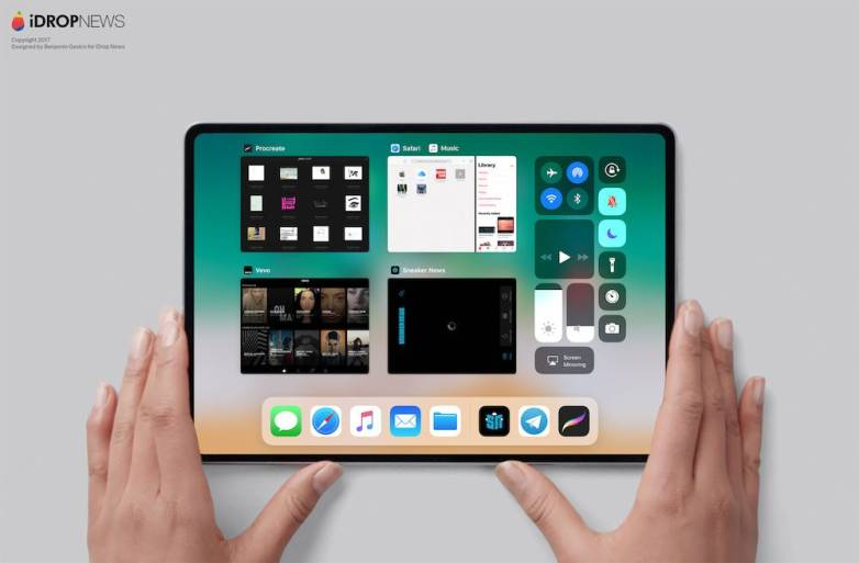 New iPad coming in 2018 with Face ID