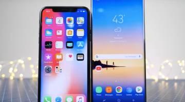 Galaxy Note 8 vs. iPhone X vs. Pixel 2
