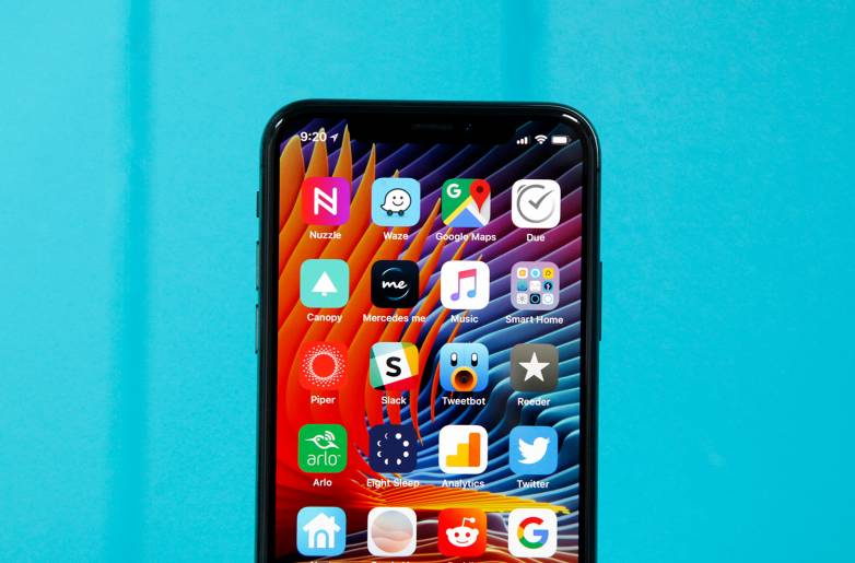 iPhone X notch replacement