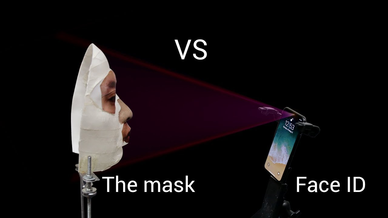 """Face ID security"""" mask, how to hack"""