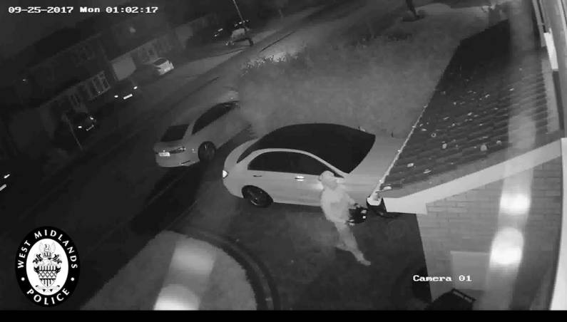 Car relay theft video