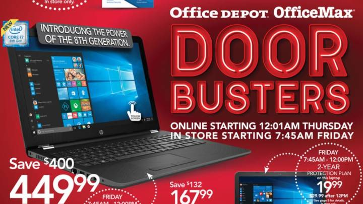 Office Depot Black Friday ad