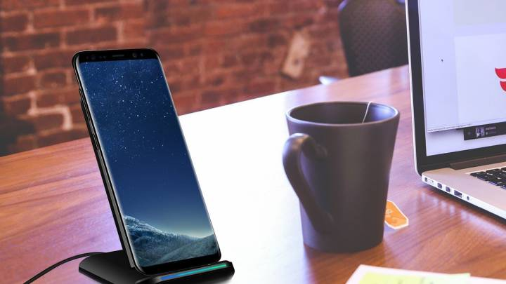 Wireless Charging Stand For iPhone X