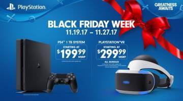 Black Friday 2017 PlayStation
