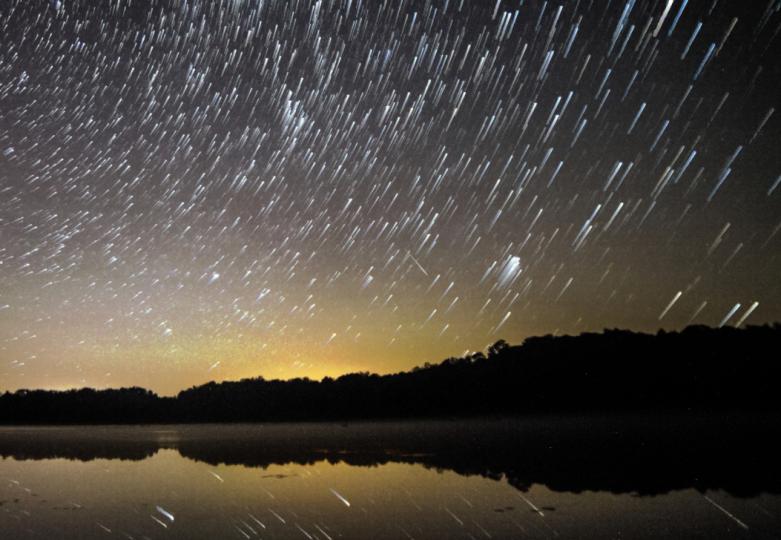 manmade meteor shower