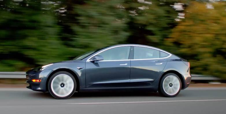 Tesla Model 3 production news