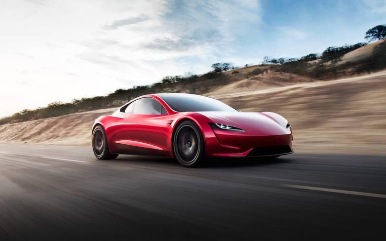 Tesla Roadster Pics