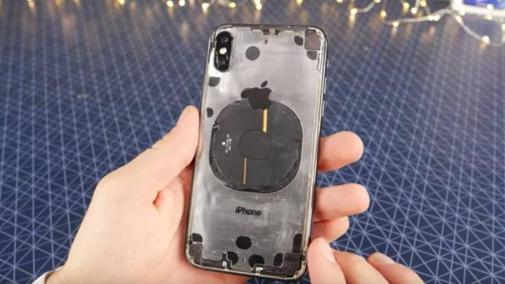 Transparent iPhone X