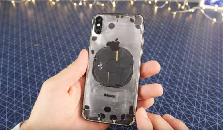 Transparent iPhone X