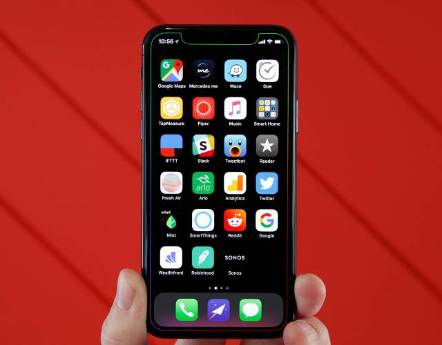 The Perfect Way To Show Off The Notch On Your Iphone X Bgr