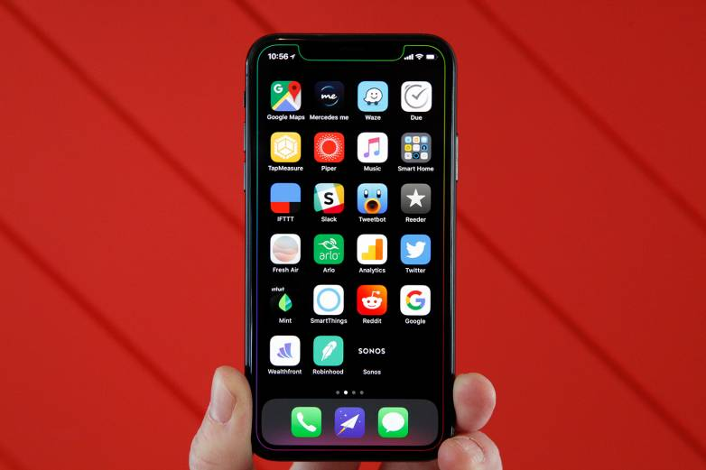 iPhone X Notch Clones