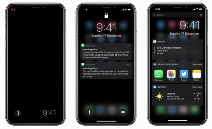 iPhone X dark mode, how to